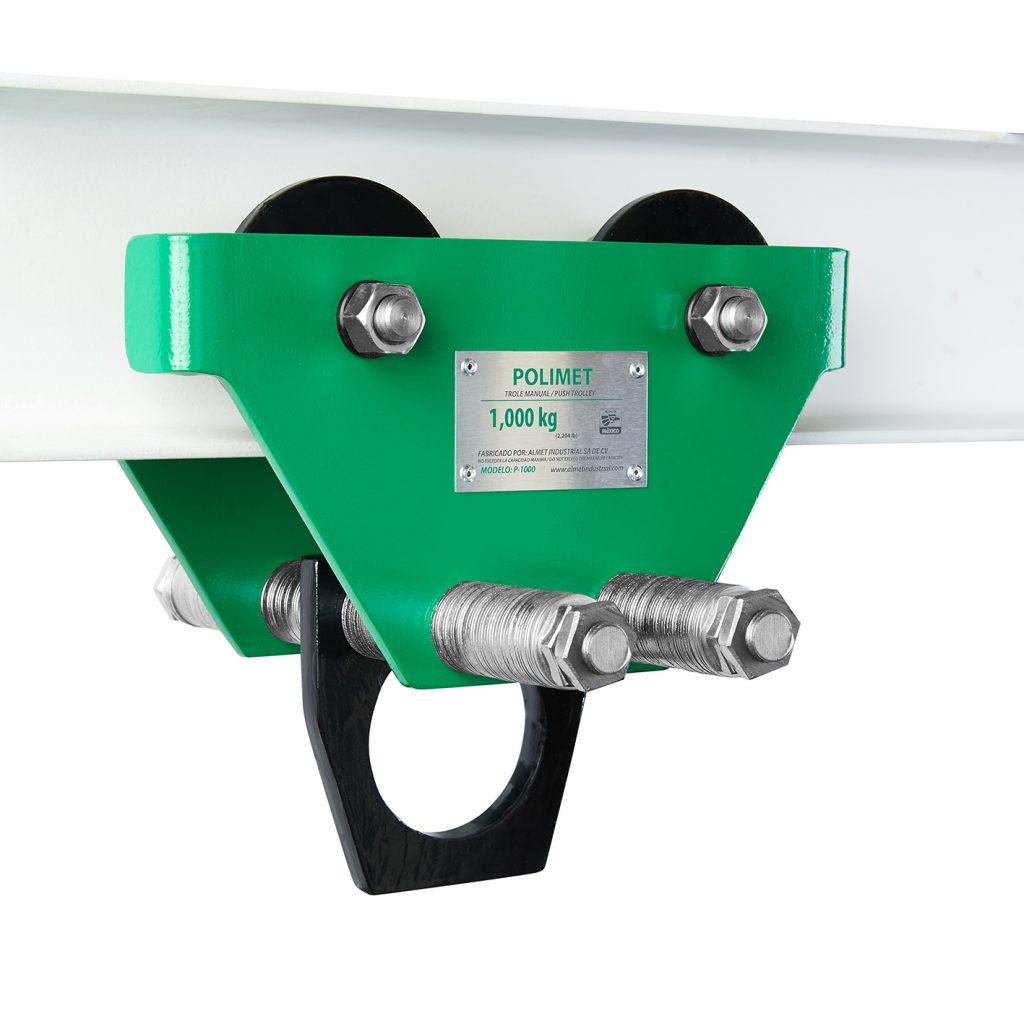 Push Trolley Polimet Rigid Hook